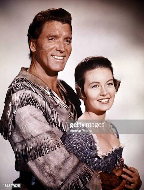 Burt Lancaster and Janette Scott in publicity portrait for the film 'The Devil's Disciple' 1959