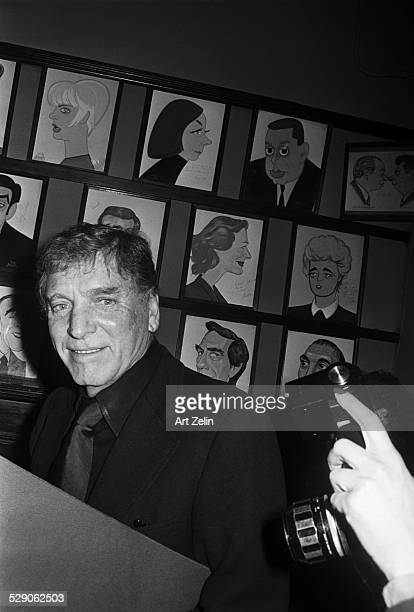 Burt Lancaster at Sardis circa 1960 New York
