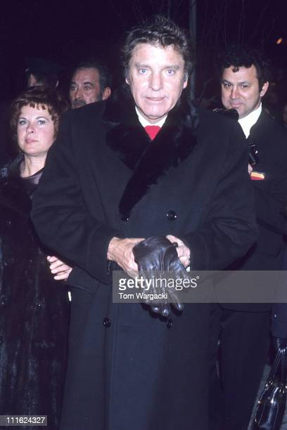 Burt Lancaster during Burt Lancaster in Midtown Manhattan September 5 1975 in New York NY United States