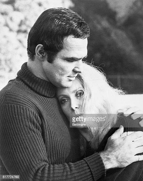 Burt Reynolds and Catherine Deneuve in a scene from the movie 'Hustle' February 1975