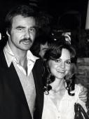 Burt Reynolds and Sally Field during Bert Reynolds and Sally Field Sighting at Steak Pit Restaurant March 15 1978 at Steak Pit Restaurant in Los...