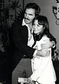 Burt Reynolds and Sally Field during Bert Reynolds Sighting at the Ma Maison Restaurant January 25 1978 at Ma Maison Restaurant in Los Angeles...