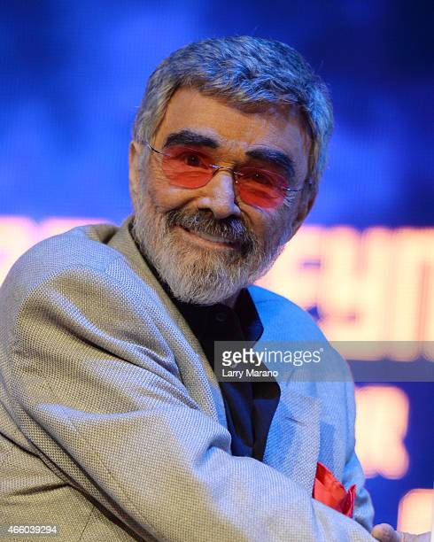 Burt Reynolds attends the Student Filmmakers showcase at the 2015 Palm Beach International Film Awards on March 12 2015 in Boca Raton Florida