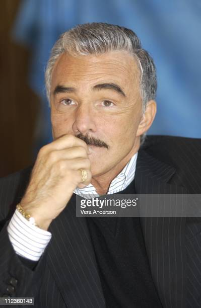 Burt Reynolds during Burt Reynolds Press Conference at HFPA Office in West Hollywood California United States