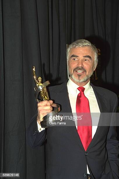 Burt Reynolds is Best Supporting Actor of the Year for his movie 'Boogie Nights'