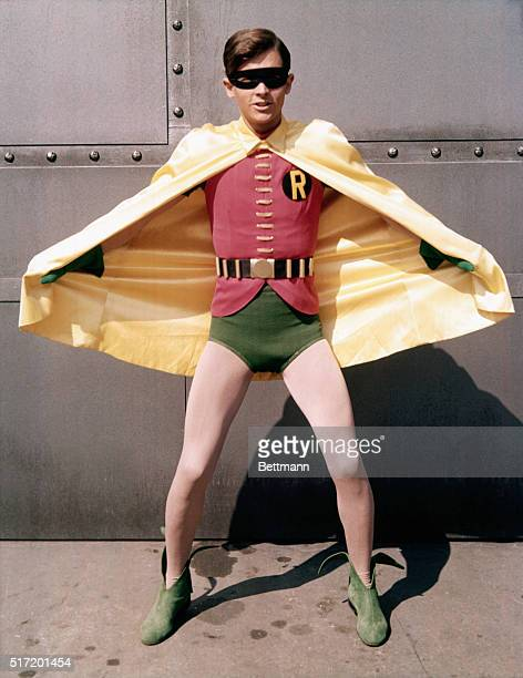 Burt Ward as Robin on television series Batman