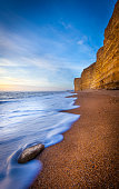 Hive Beach is a section of the world famous World Heritage Jurassic Coast. The beach is shingle, and part of the larger Chesil Beach the largest shingle ridge in the world.