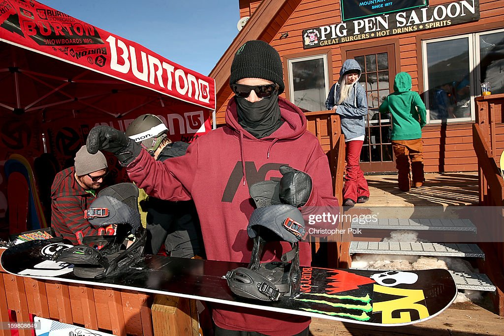 Burton Pro Rider Zak Hale attends Burton Learn To Ride - Day 2 on January 20, 2013 in Park City, Utah.