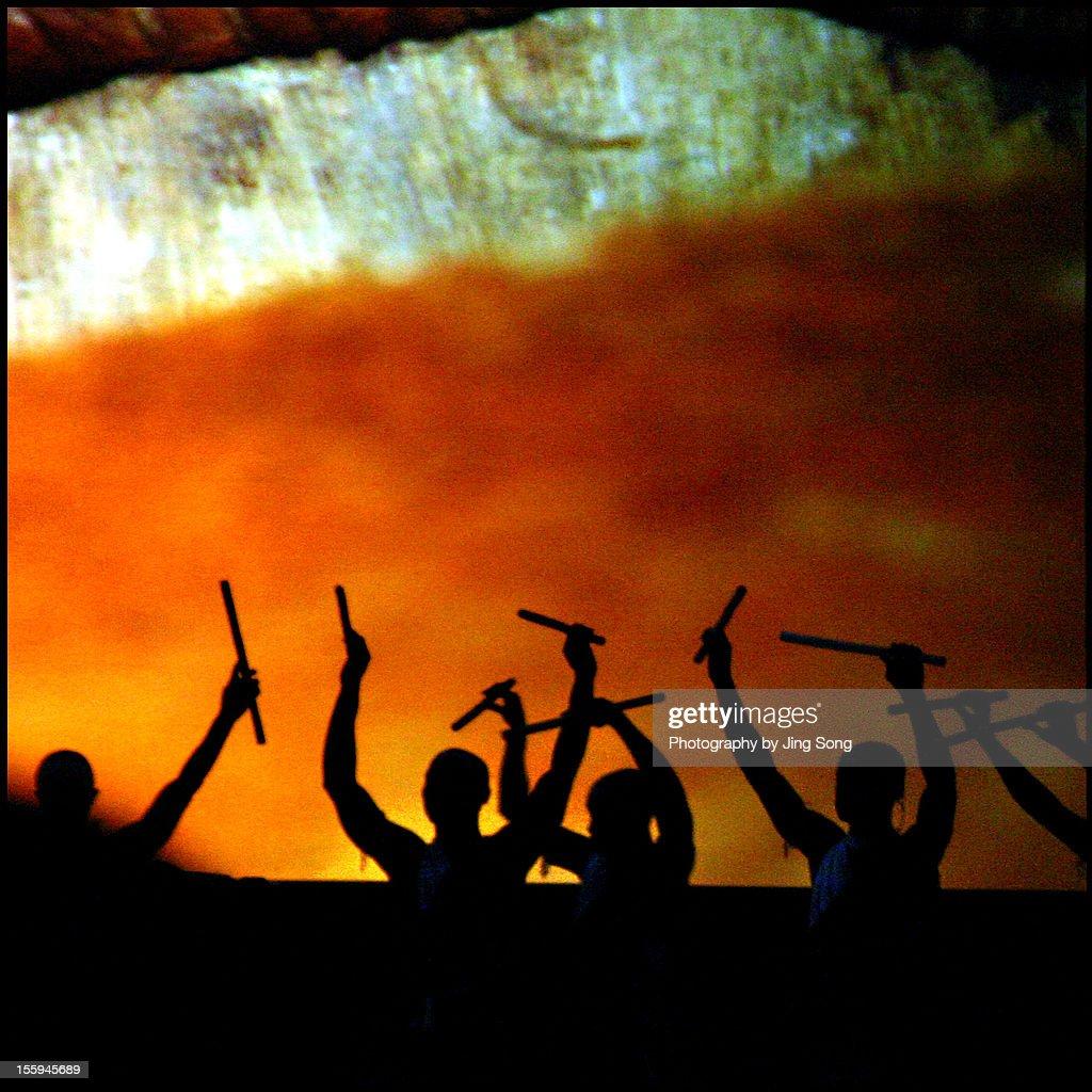 Burundi Drummer : Stock Photo