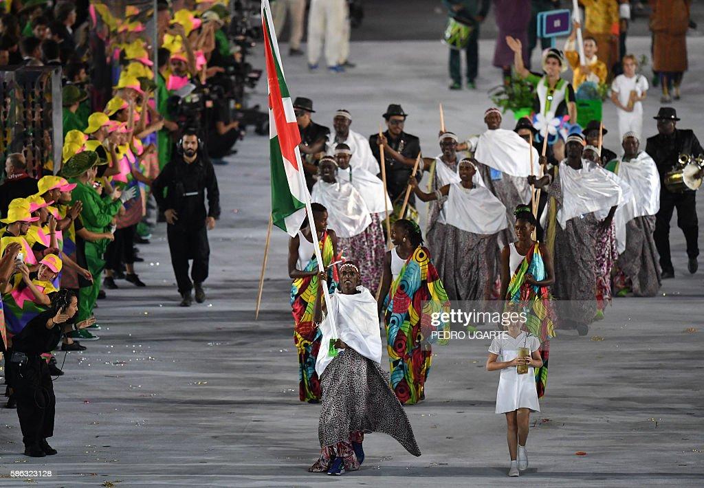 Burundi Flag Bearer