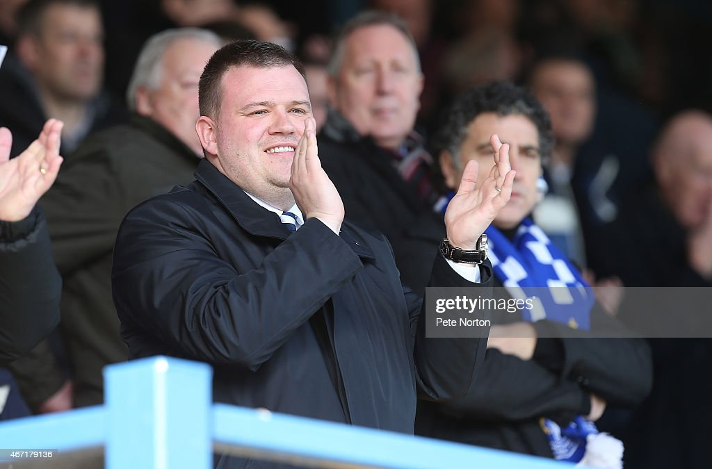 Bury Chairman Stewart Day applauds his team onto the pitch prior to the Sky Bet League Two match between Bury and Northampton Town at The JD Stadium...