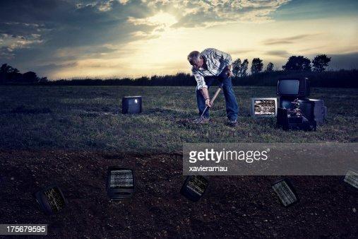 Bury televisions
