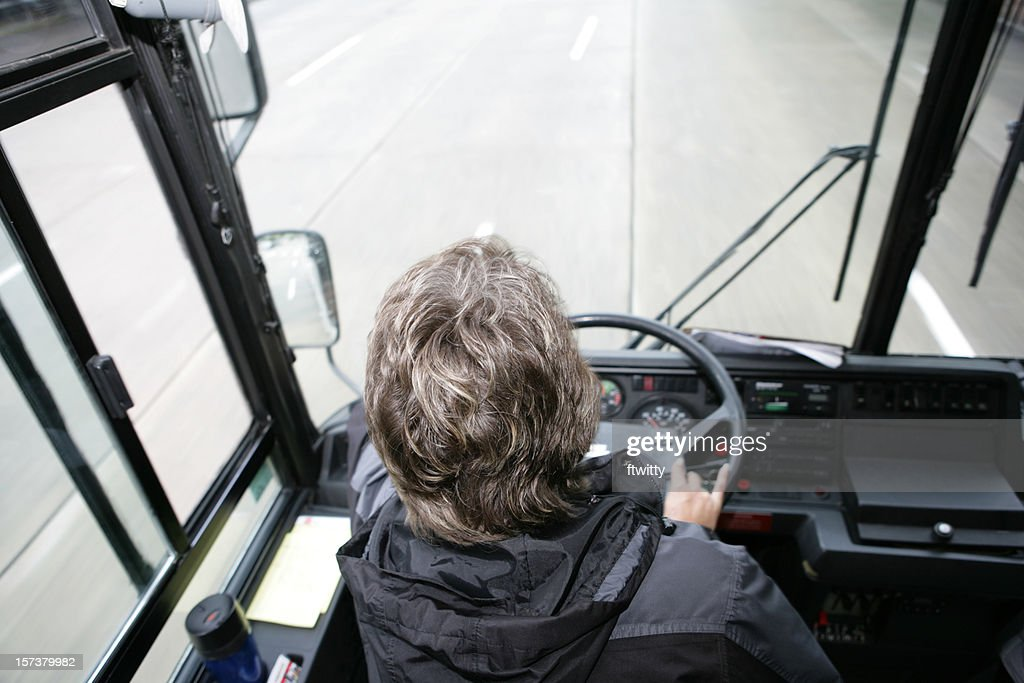 Bus Driver From Above