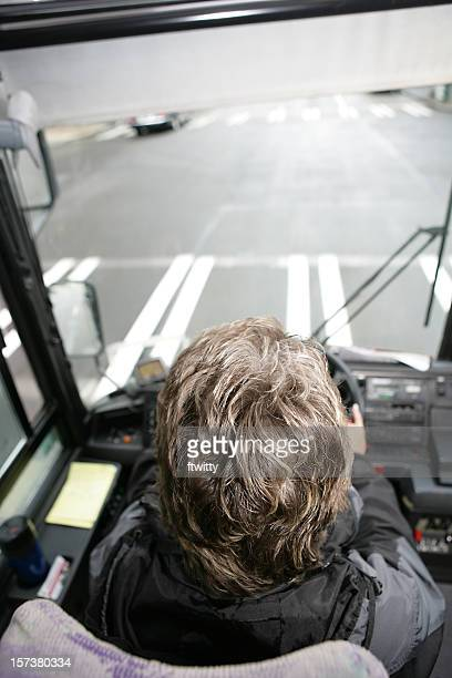 Bus Driver Vertical