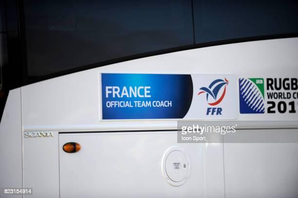 Bus Equipe de France Entrainement Equipe de France Coupe du Monde Rugby 2011 Onewa