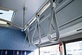 bus, handles,
