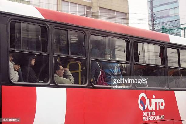 Bus à Quito, en Équateur