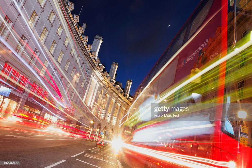 A bus on Regent Street