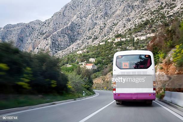 Bus sur la route