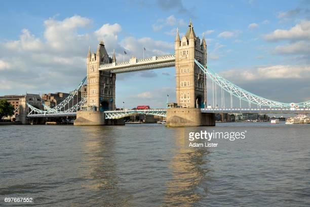 Bus on Tower Bridge