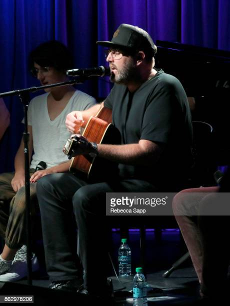 busbee performs at Chart Toppers Songwriters/Producers InTheRound Featuring Busbee Dave Bassett Warren 'Oak' Felder And Teddy Geiger at The GRAMMY...