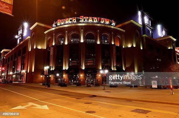 Busch Stadium home of the St Louis Cardinals baseball team in St Louis Missouri on November 14 2015