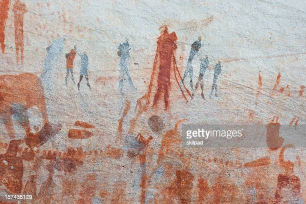 Buschmann rock art