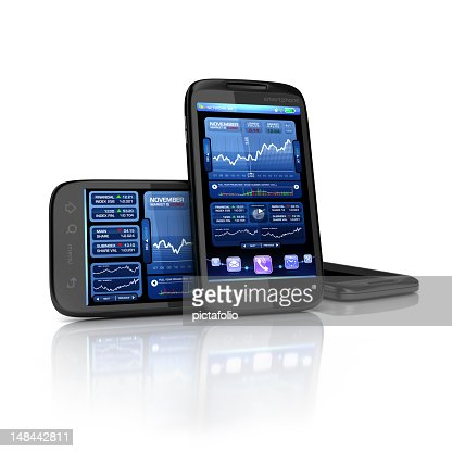 Business and finance phone apps