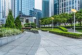 business area of hong kong,china.