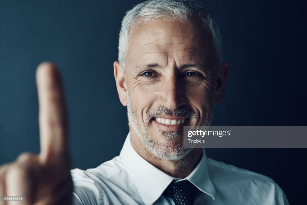 Business as easy as a swipe : Stock Photo