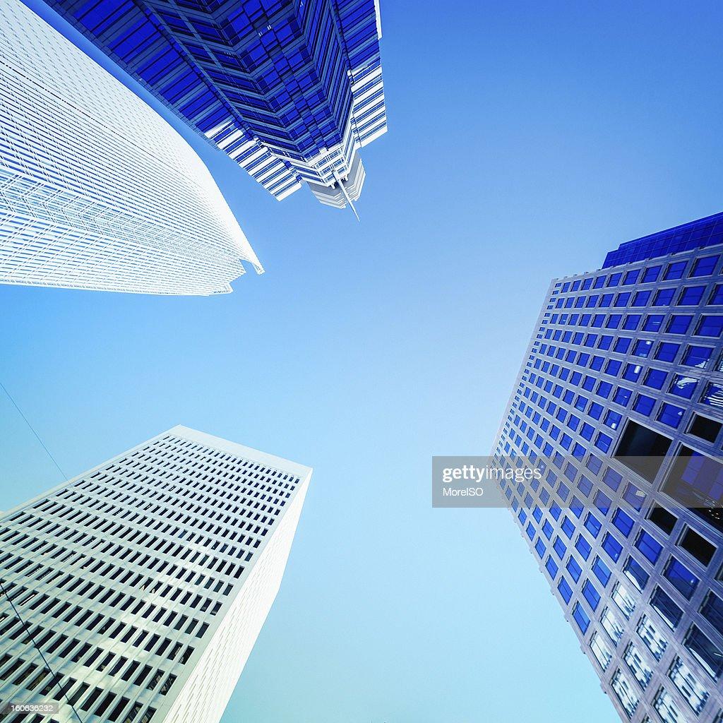 Business Buildings, Atlanta Downtown : Foto de stock