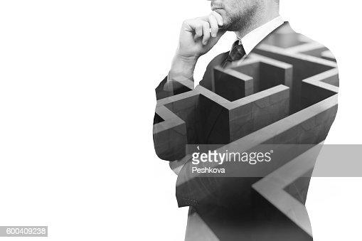 Business challenge : Stock Photo