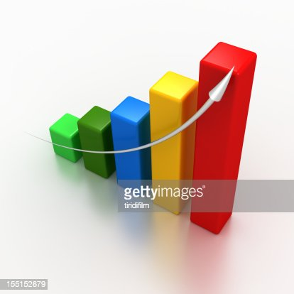 Business Chart : Stock Photo