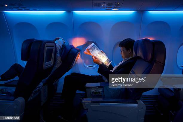 Business class air passenger