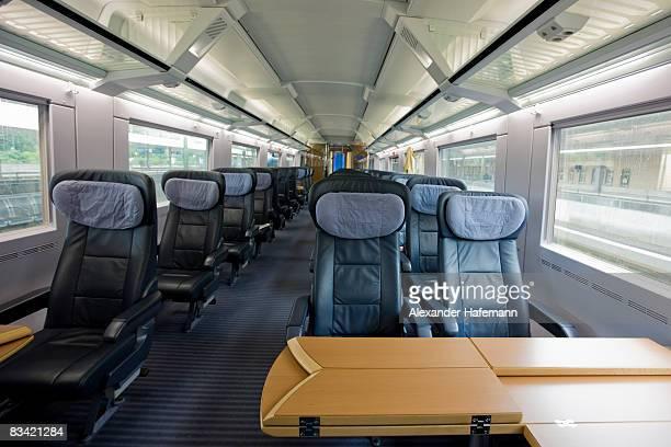 Business Class Train Interior