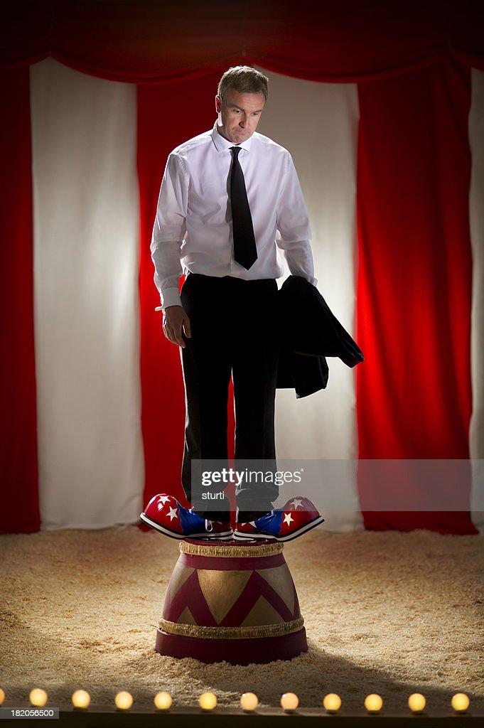 business clown : Stock Photo