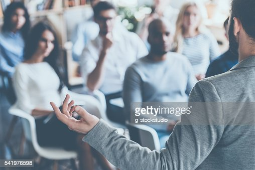 Business coach. : Stock Photo
