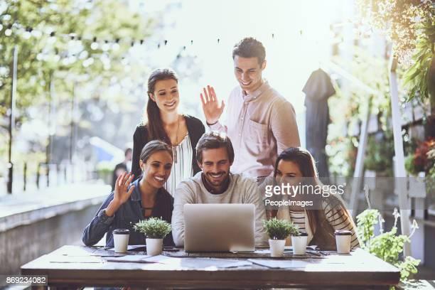 Business samenwerkingen in real-time