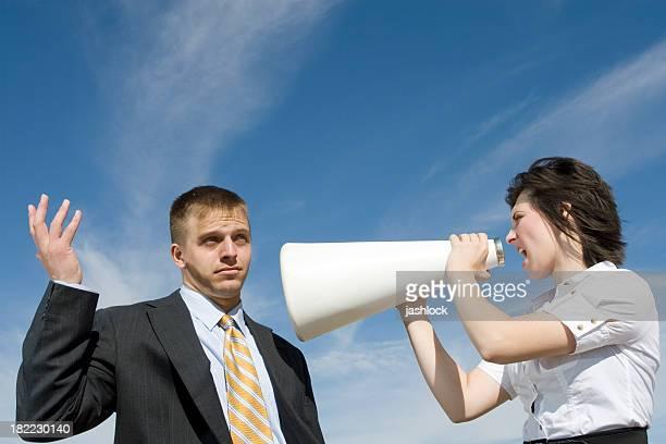 Concept de Communication d'affaires