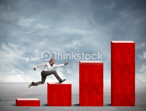 Business competition : Stock Photo