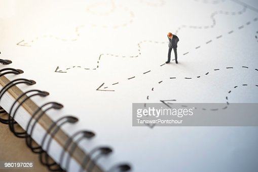 Business concept of direction : Stock Photo