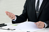 Business concepts, meeting or consulting