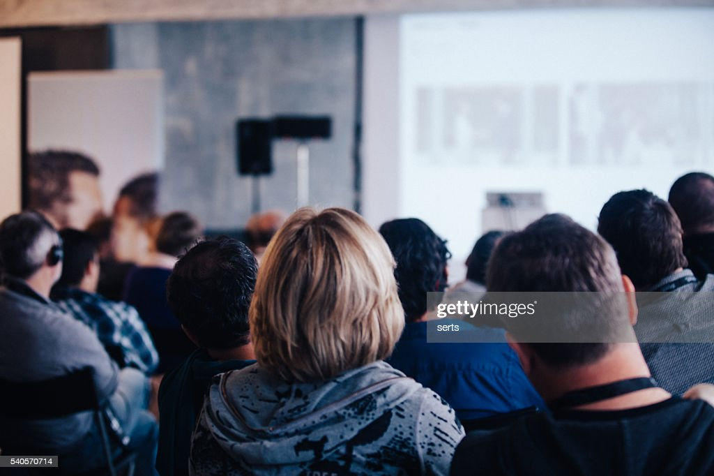 Business Conference : Stock Photo