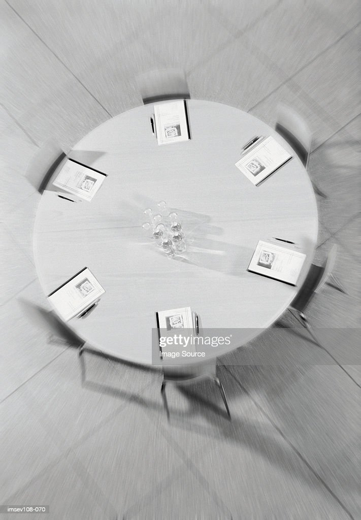Business conference table : Stock Photo