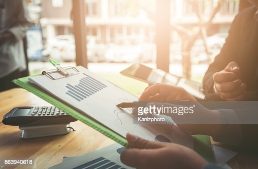 Business conferencing and meetings in the room : Stock Photo