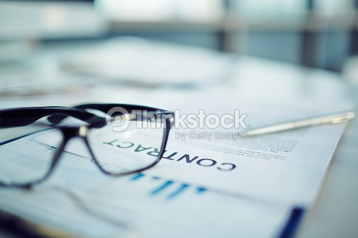 Business contract details