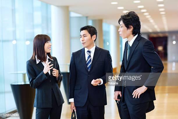 ビジネスの会話