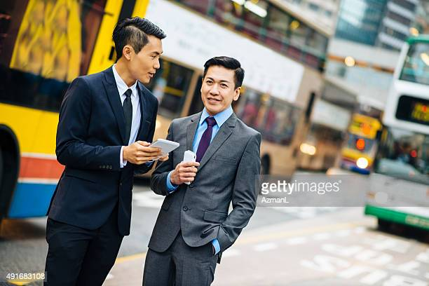 Business-Gespräche