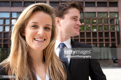 business couple : Bildbanksbilder
