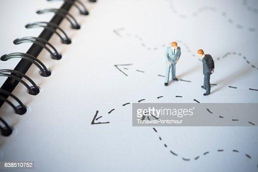 Business decision concept. : Stock Photo